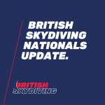 British Skydiving Nationals 2020 cancelled